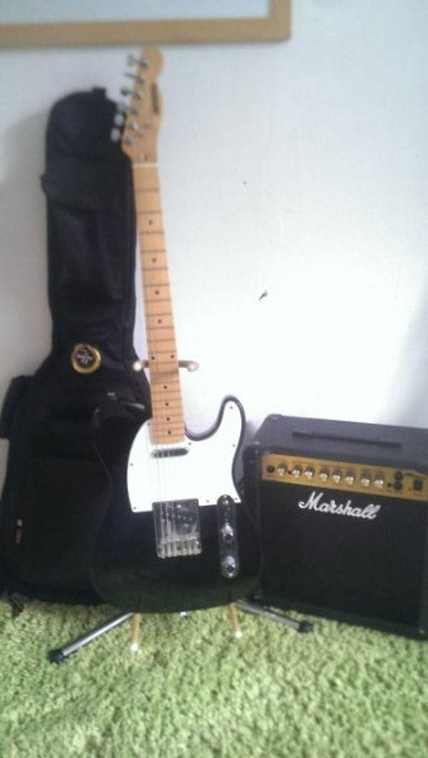 Westone E - Gitarre+ Marshall Verstärker + Zuberhör (Komplett)