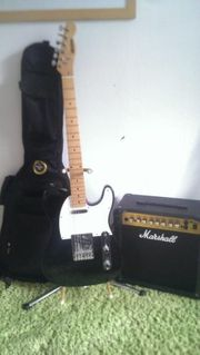 Westone E - Gitarre Marshall Verstärker