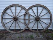 Kutschräder 2 Stück