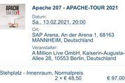 2 Apache 207 Tickets Mannheim