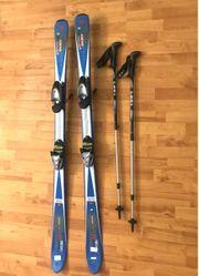 Ski mit Skistöcke zu verkaufen