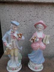 Barocke Porzelanfigur - Paar