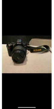 Nikon D3000 mit 18-55mm Objektiv