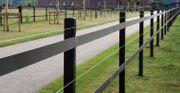 Günstige PVC - Zäune für die