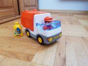 123 Playmobil Müllauto