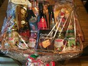 Italienischer Geschenkkorb