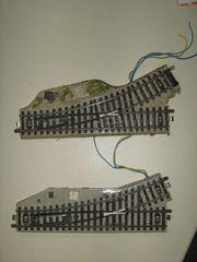 elektrische Weiche links Original Märklin