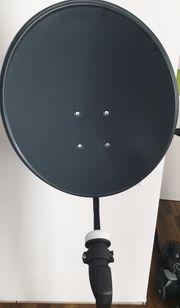 Satellitenschüssel 60 cm TWIN-LNB für