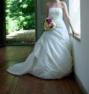 Brautkleid neuwertig Gr 36-38 Atelier