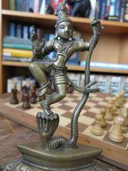 Deko-Figur aus Messing
