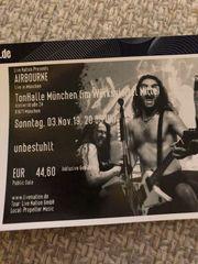 Airbourne Konzertkarte