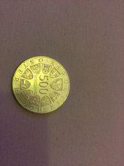 500 Schilling Silbermünze Georgenberg 1988