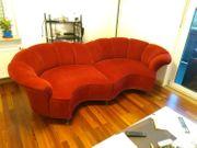 Rote Designercouch Wohnzimmer Couch Sofa