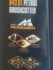 Benzin Motorsense McCulloch B43BT -NEU
