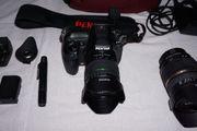 Pentax K-5 komplette Fotoausrüstung