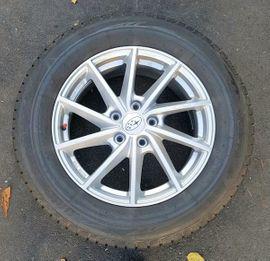 Winterräder Alu, 7J x 17 H2, Reifen Bridgestone 225/65 R17
