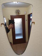 Spiegel Wandspiegel Flur alt Kristall