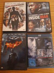 3 Dvds und 1 Bluray