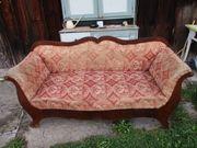 Antiker Sofa Zweisitzer