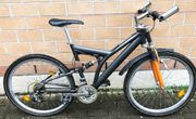 21-Gang Alu Mountainbike fully 26