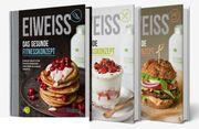 3 Eiweiss-Kochbücher