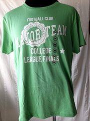 Herren Jungen T Shirt Grün