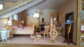 Bild 4 - Puppenhaus Puppenstube 5 Zimmer Möbel - Gießen Wieseck