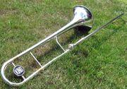 Jazzposaune King 3B 2103 versilbert -