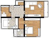 Provisionsfreie 3 Zimmer Dachgeschosswohnung in