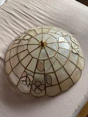 Sehr schöne Deckenlampe Perlmutt