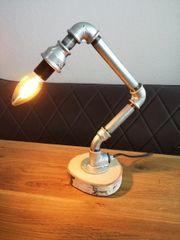 Schreibtischlampe - Industrielook - Lampe aus Fittings