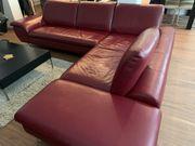 W Schillig Ledersofa Couch