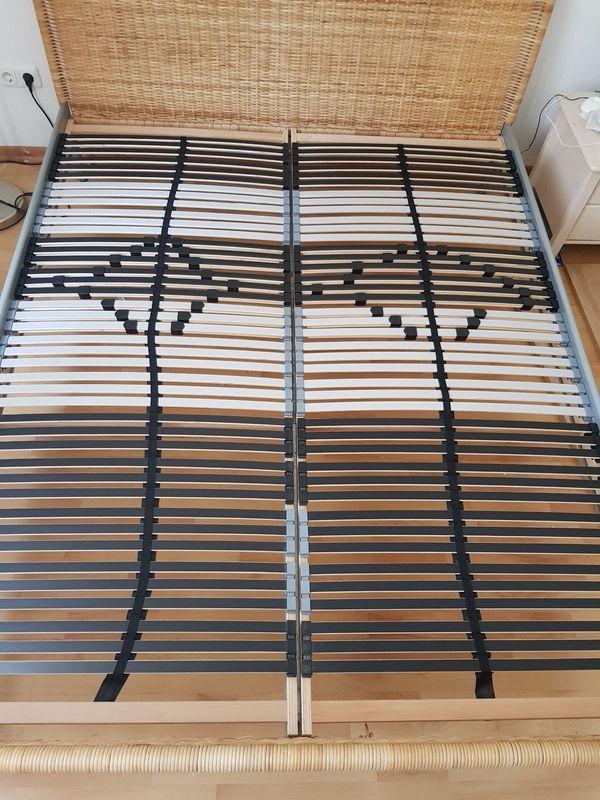 Komplett Bett 2 Matratzen 2 X Lattenrost 160x200cm In