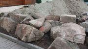 Sandsteine unbehauen naturbelassen