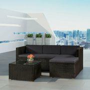 Gartenmöbel Polyrattan Lounge Rattan Gartenset