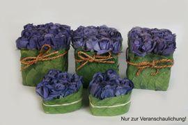 Dekoartikel - Rosenbox Flowerbox Blumenbox Kunstrosen Dekorosen