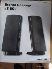 Stereo Speaker E 80