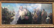 Gemälde mit Goldrahmen