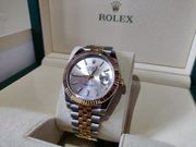 Rolex Datejust 41 Edelstahl Gelbgold- 126333