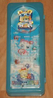 Stifte-Box mit Labyrinth-Spiel - Kästchen - Schalen-Etui