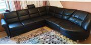 Couch Wohnlandschaft mit Bett und