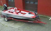 Hydra-Sports Motorboot mit 4-takt Suzuki