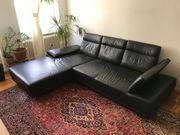 Hochwertige Echtleder-Couch NP 4 600EUR