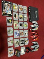 Nintendo 64 mit 21 spielen