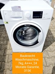 Bauknecht Waschmaschine 7kg