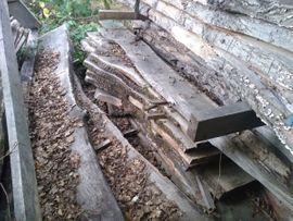Eichenbohlen Eiche 7 Jahre luftgetrocknet: Kleinanzeigen aus Wadern - Rubrik Holz