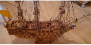 Holzmodellschiff Fregatte Friesland 1663