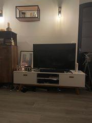 TV Sideboard Weiß im Loft
