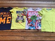4 T Shirts 110 116