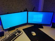 2x 27 zoll Samsung Bildschirm